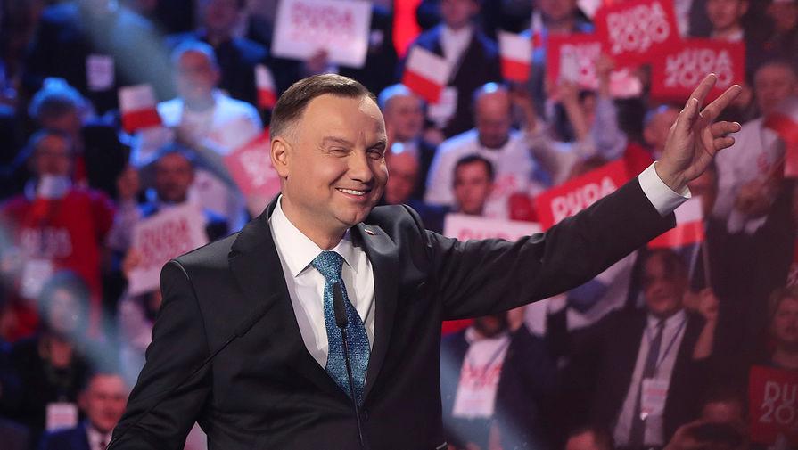 Президент Польши назвал РФ 'врагом свободы'