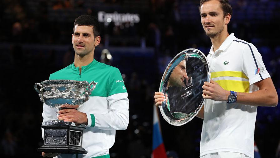 Медведев: в финале Australian Open Джокович сломал меня