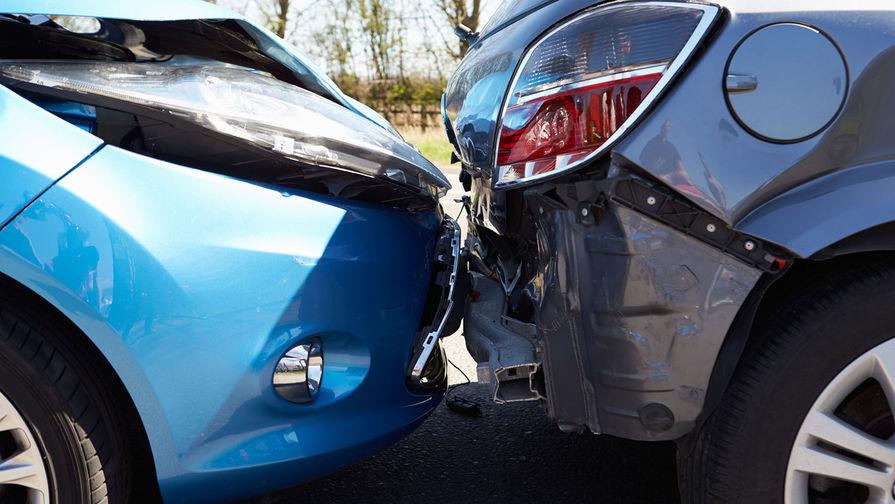 На МКАД столкнулись шесть автомобилей