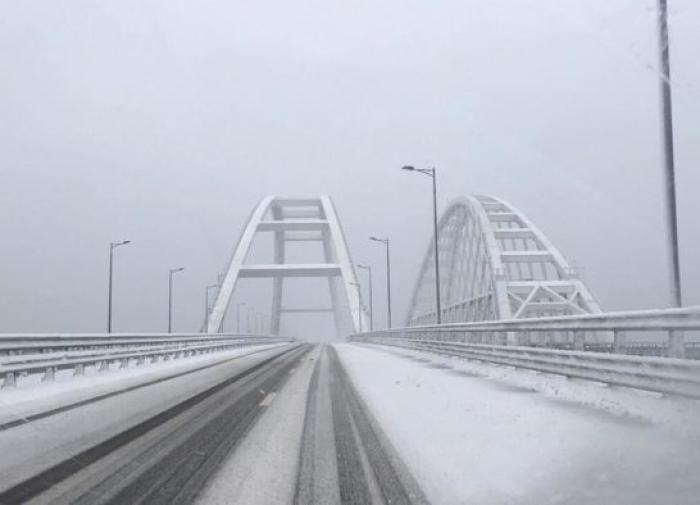 Крымский мост вновь заработал в обычном режиме