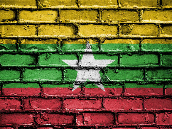 Военный вертолет сбили в Мьянме