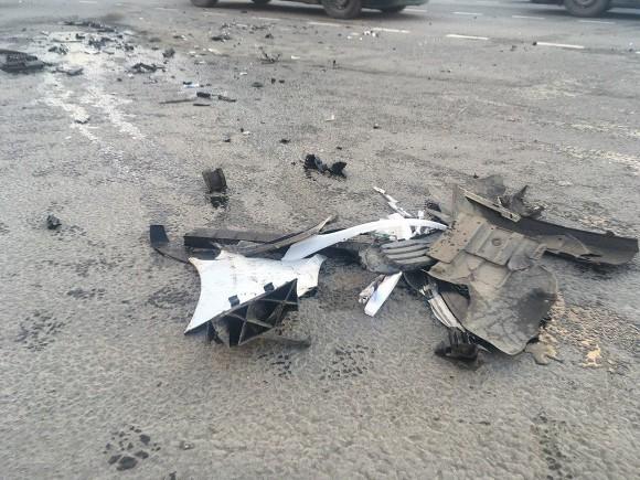 Три автомобиля столкнулись в Рязани, есть пострадавшие