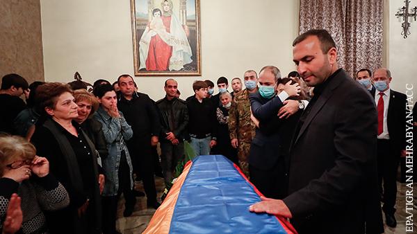 Азербайджан заявил о готовности передать тела погибших армянских военных
