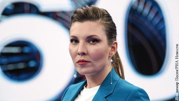 Скабеева рассказала о выздоровлении от коронавируса