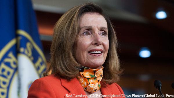 Пелоси переизбрана лидером демократов в Палате представителей