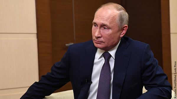Путин назвал авторов текста соглашения по Карабаху