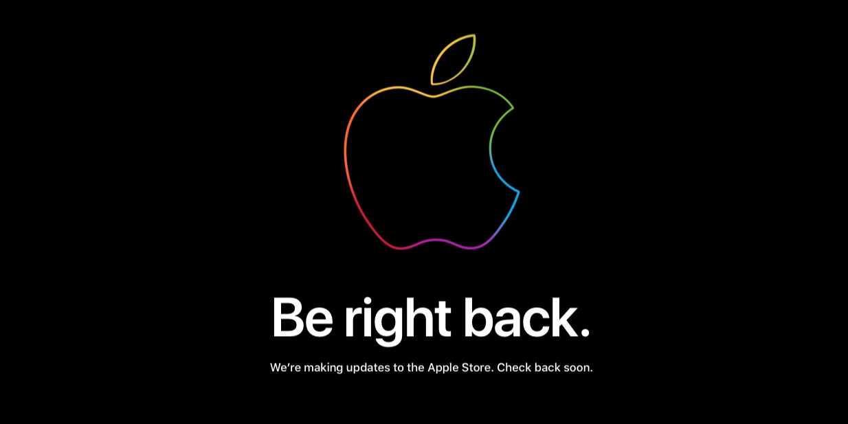 Сайты Apple Store временно закрылись перед анонсом iPad Air и Apple Watch Series 6