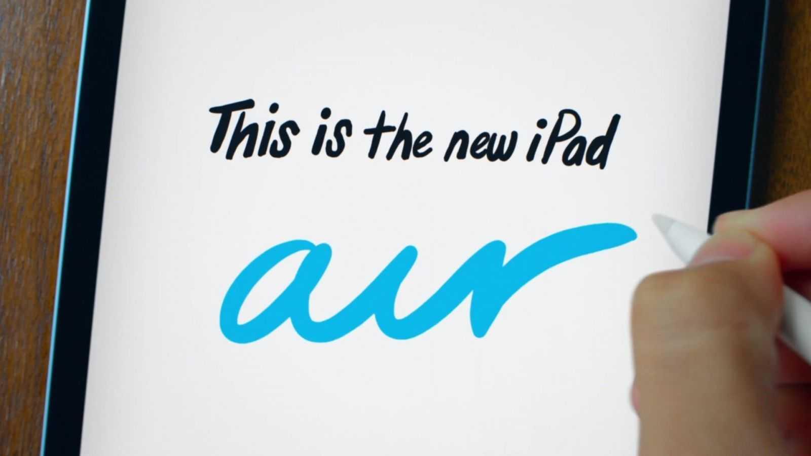 Apple показала новый мощный iPad Air 2020