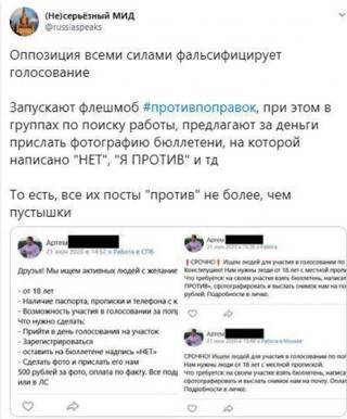 Противники поправок вербуют петербуржцев для участия в протестной акции на Дворцовой