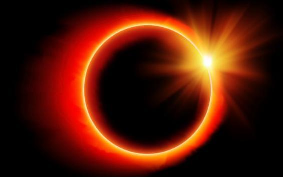 Куряне увидят кольцеобразное солнечное затмение