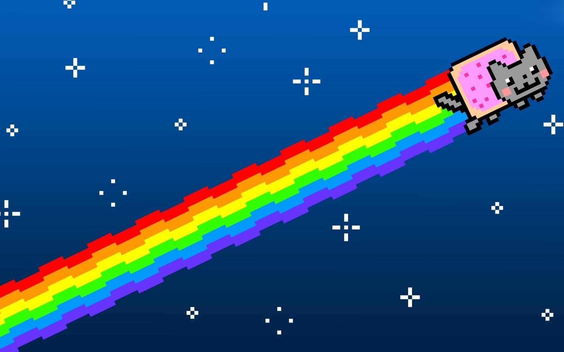 Nyan cat пробежал над Японией и взорвал няшностью твиттер. И это не фотошоп, а редкое природное явление