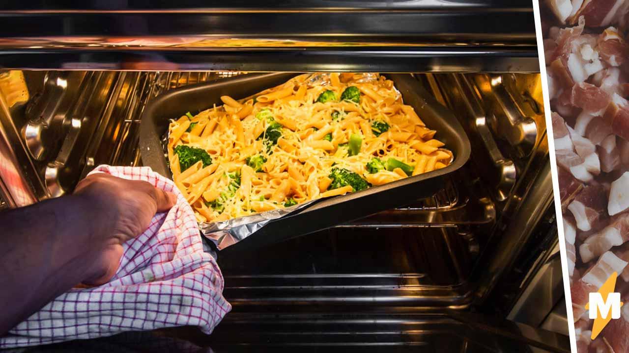 Когда от духовки запахло гарью, хозяйка решила, что пригорел цыплёнок. Она ещё никогда так не ошибалась