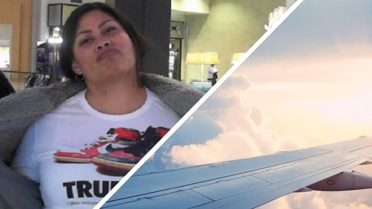 Пассажирка села в самолёт, а дальше — сцена из фильма. Ведь лайнер она покинула уже с новым членом семьи
