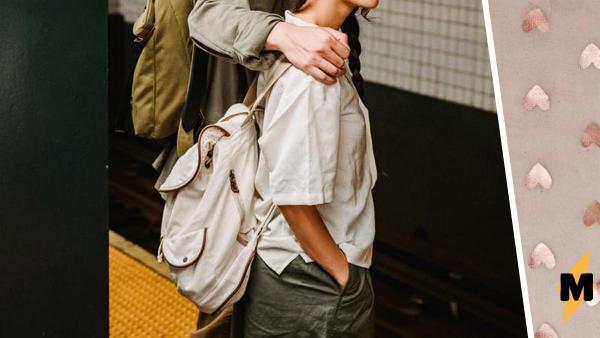 Парень гладил свою девушку по ноге в метро, но зря. Ему стоит посмотреть видео и узнать, кто был на самом деле