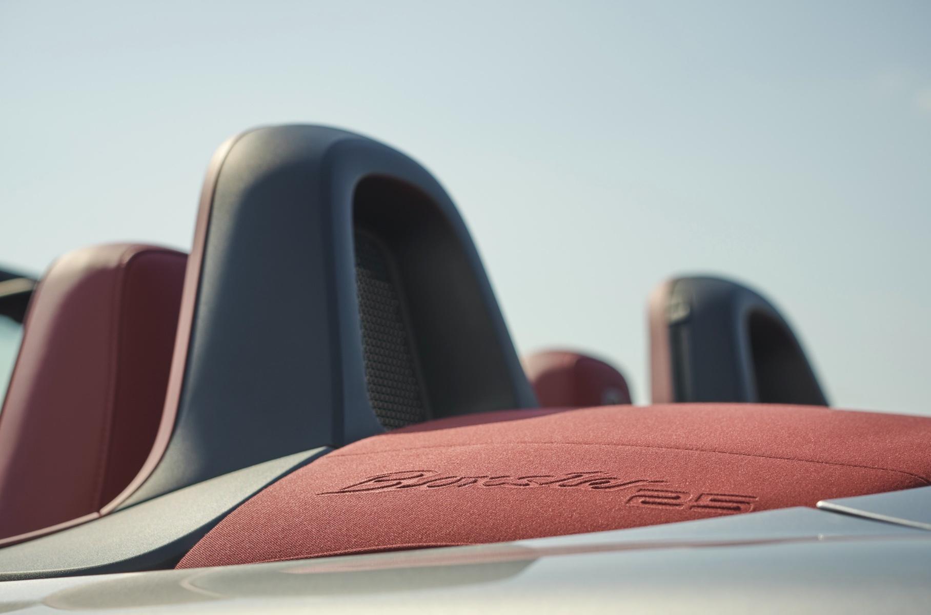 Porsche Boxster 25 Years отпразднует 25-летие модели
