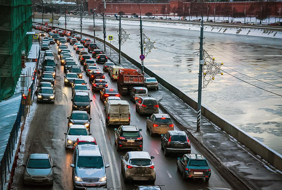 Москва лидирует в рейтинге самых пробочных городов мира