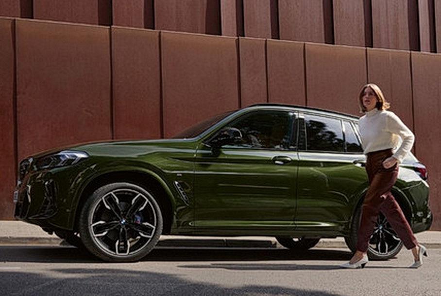 BMW раньше времени раскрыла дизайн обновленного X3
