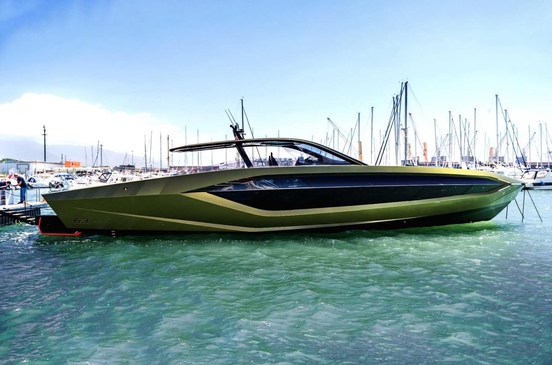 Конор Макгрегор купил скоростной катер Lamborghini за 300 млн рублей
