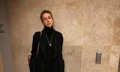 Блондинка в ажуре: жена Урганта заметно постройнела и продолжает решительно меняться