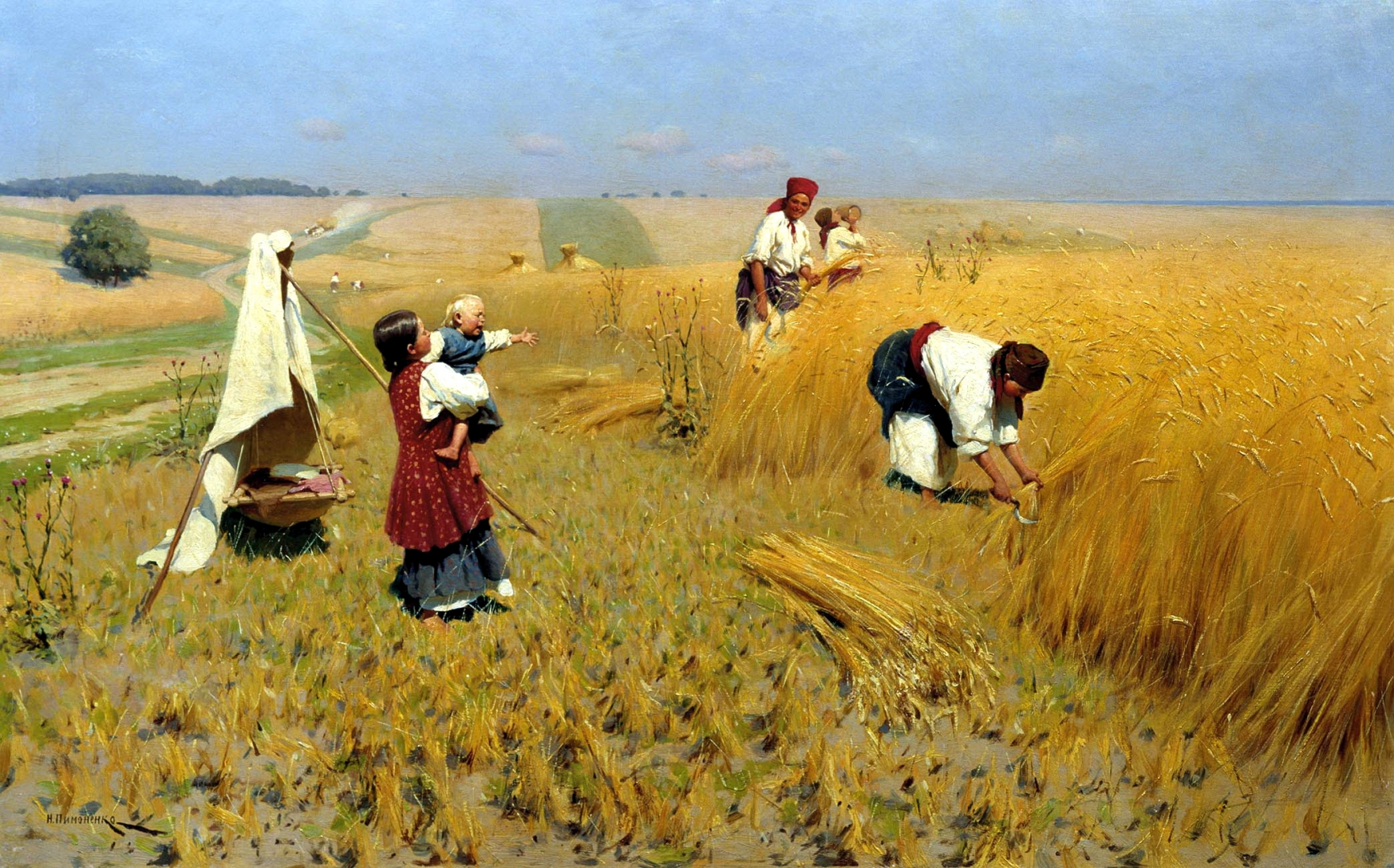 Украина заявила, что кормит 150 млн человек по всему миру