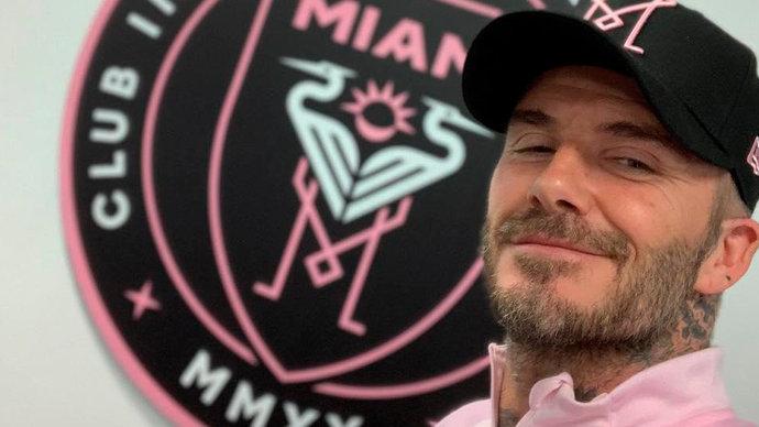 45-летний Бекхэм сыграл в футбол с игроками академии «Интер Майами» (видео)