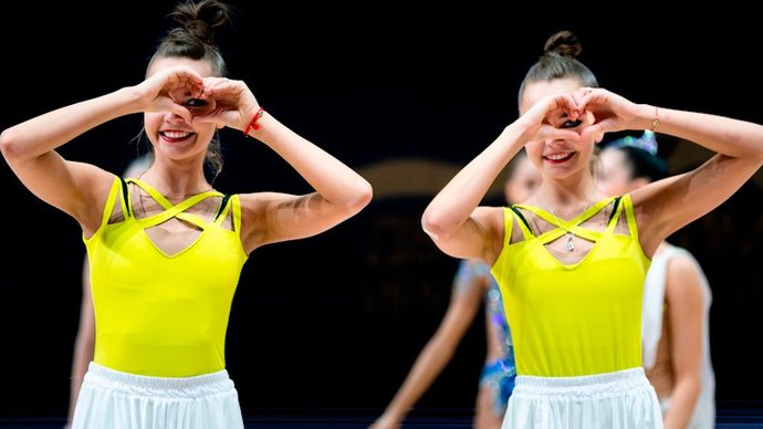 Сестры Аверины завоевали золото и бронзу индивидуального многоборья на ЧЕ