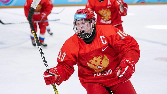 Российские хоккеисты обыграли Белоруссию в четвертьфинале ЮЧМ-2021
