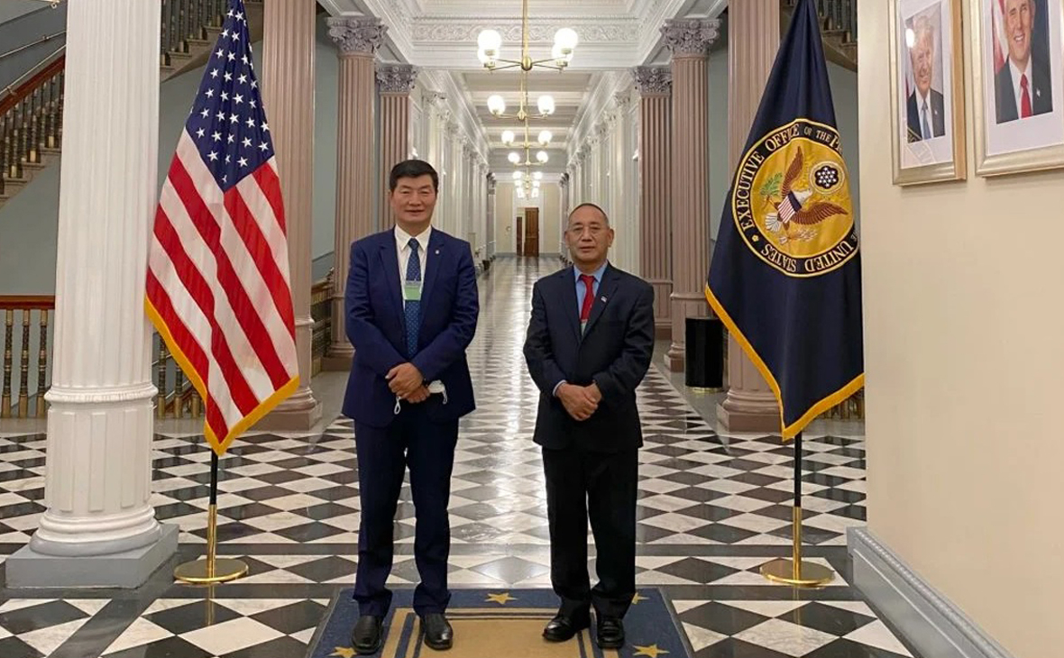 Тибетский лидер впервые за 60 лет посетил Белый дом