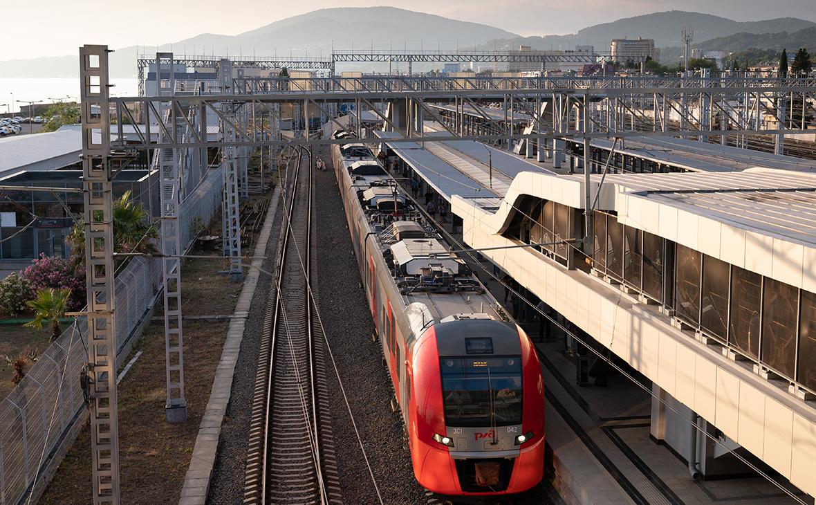 Перенос железной дороги в Сочи от побережья в горы оценили в ₽1,4 трлн