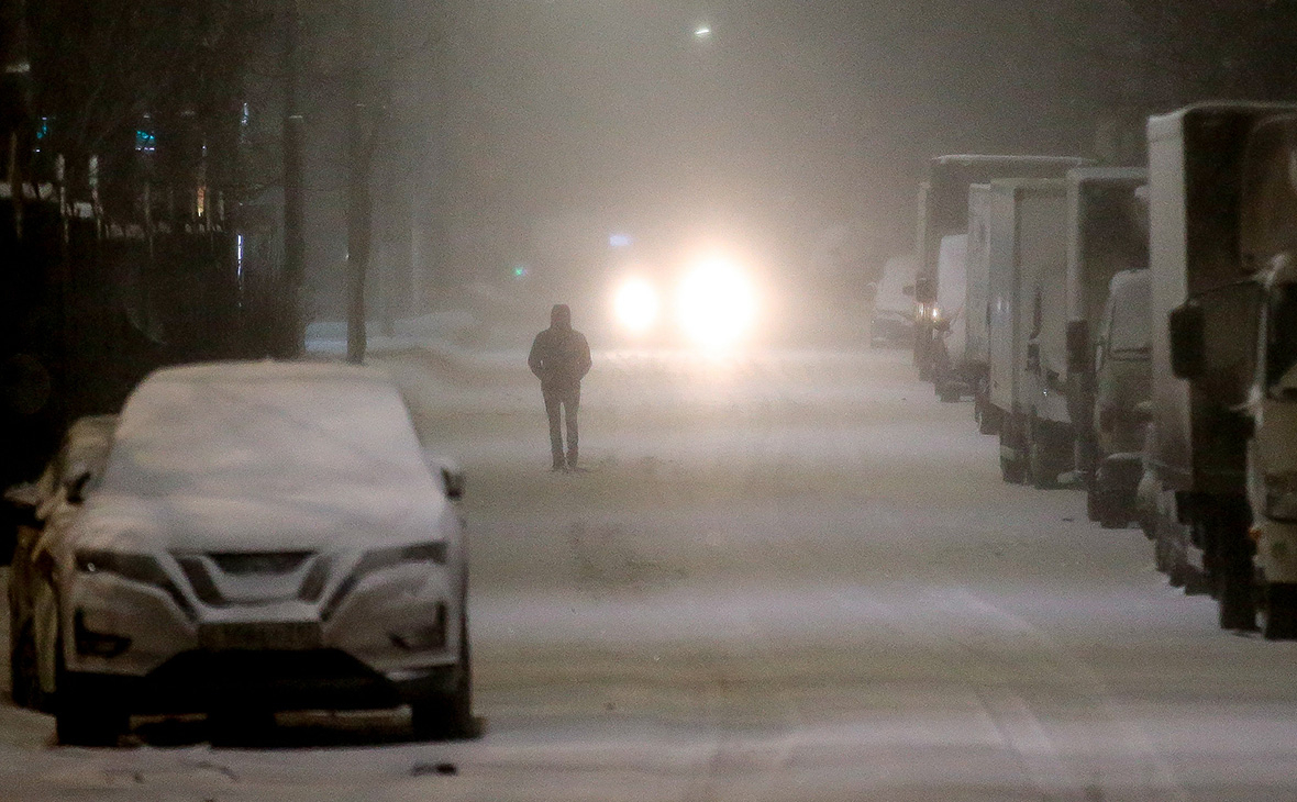 В Москве за ночь выпала пятая часть месячной нормы осадков