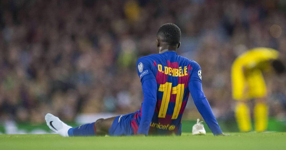 «ПСЖ» хочет бесплатно подписать Дембеле в 2022-м. Усман еще не продлил контракт с «Барсой»