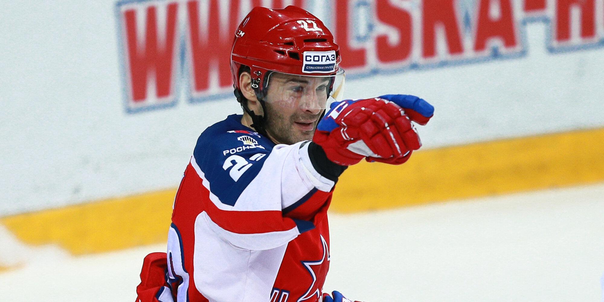 ЦСКА и Попов продлили контракт на год. В августе игроку исполнится 41