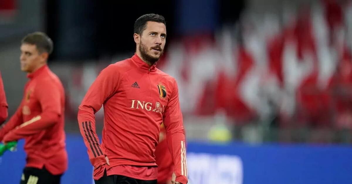 Азар не выйдет в старте Бельгии на матч с Россией (Gol)