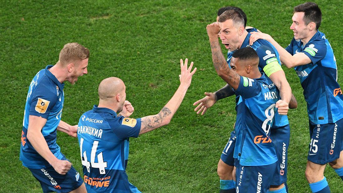 «Зенит» выиграл чемпионат России в 7-й раз, обойдя ЦСКА по этому показателю