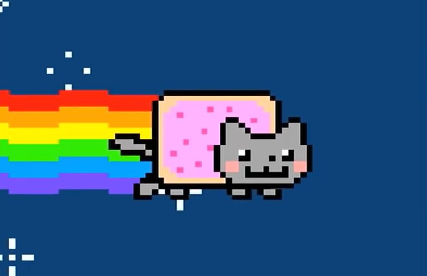 Гифку-мем Nyan Cat продали на криптоаукционе за $590 000