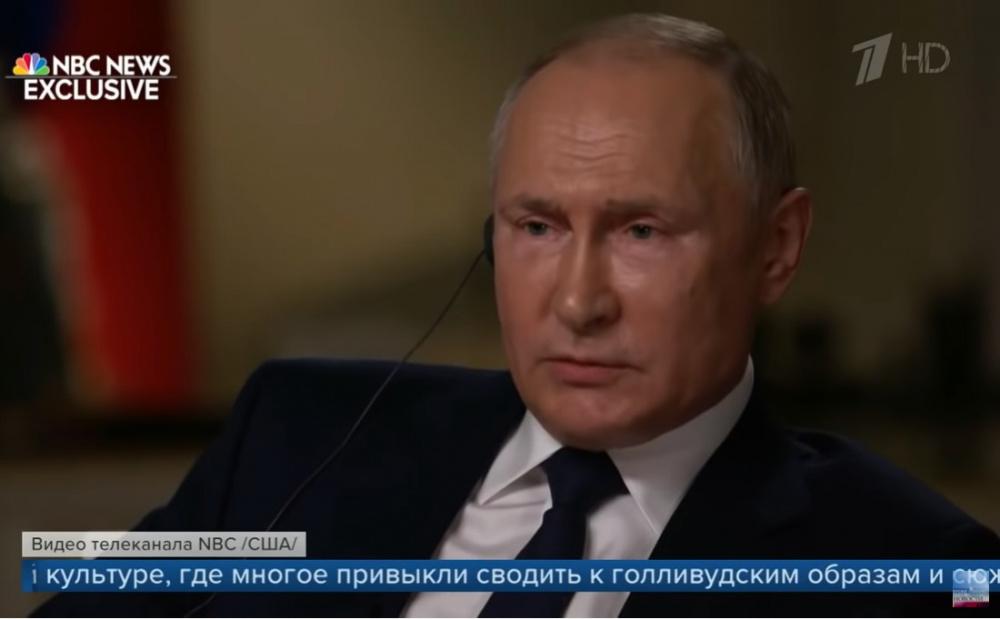 'Мистер президент, вы убийца?'. Интригующее интервью Путина каналу NBC