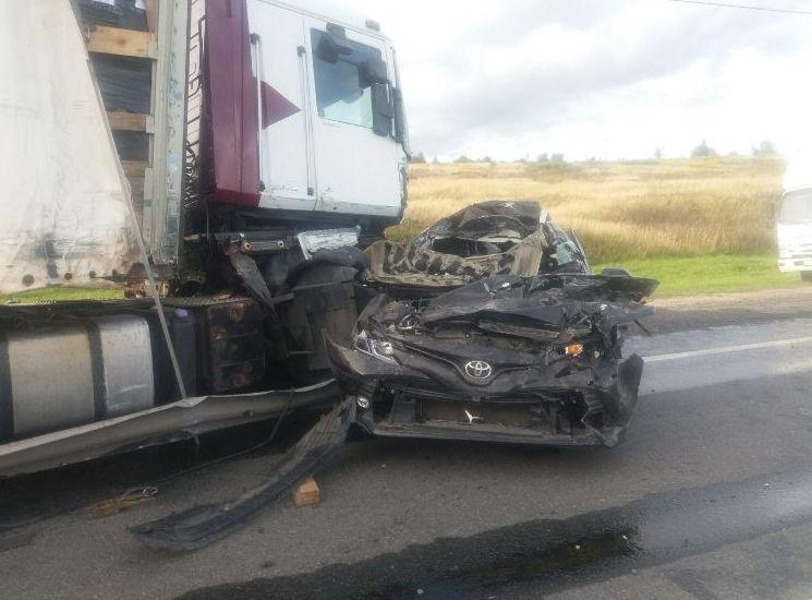 Водитель погиб. Подробности и фото массового ДТП на трассе М1 в Смоленской области
