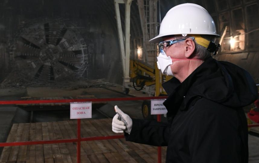 Строительство Большой кольцевой линии метро перешло 'экватор'