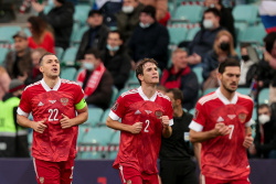 Сборная России показала форму на матч с Бельгией