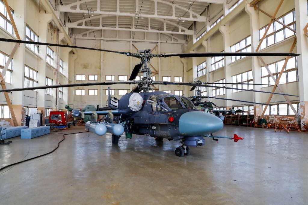 В России завершены испытания морских вертолётов Ка-52К 'Катран'