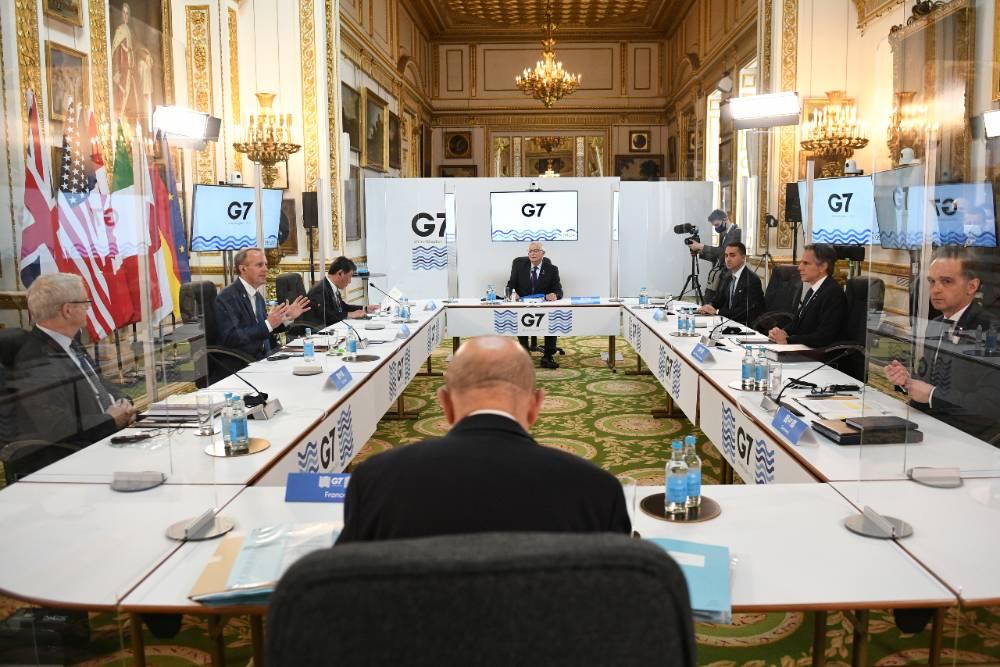 Япония на встрече G7 предложила выработать 'совместный подход' к России