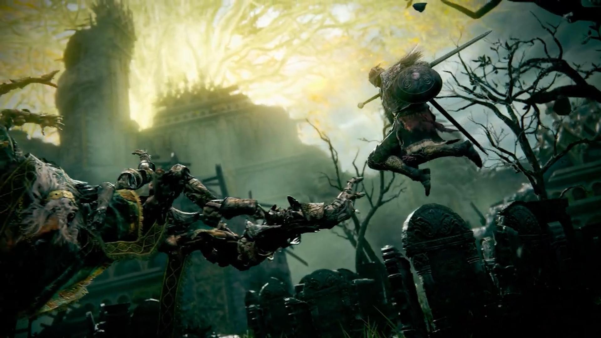 Огнедышащие драконы и страшные монстры: Появился первый геймплейный трейлер и озвучена дата выхода игры Elden Ring